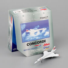 Diecast Model 1:400 Aircraft Gemini Jets Toys GJ G-BOAC British Airways Concorde