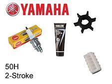 Yamaha  50H 50hp 2-Stroke Outboard Service Kit (Impeller Spark Plug Fuel Filter)