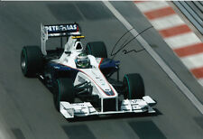 Nick Heidfeld Hand Signed BMW Sauber Photo 12x8 6.