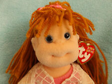 VGC Collectable Rare Vintage TY Beanie Boppers Kid ROSIE girl doll 1990's  & Tag