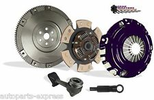 CLUTCH WITH SOLID FLYWHEEL KIT STAGE 2 GEAR MASTERS FOR 04-07 FORD FOCUS 2.3L