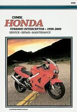 1998 1999 2000 Honda VFR800FI Interceptor Clymer Repair Service Shop Manual M438