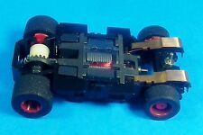 HO Tyco Mattel Slot Car 440 X2 Wide Pan Chassis,6.5 OHM Pro4 Super Foam Tires