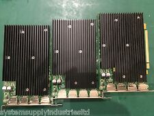 3x Nvidia Quadro NVS 450 512MB GDDR3 PCI-E 4x DisplayPort Graphics Card
