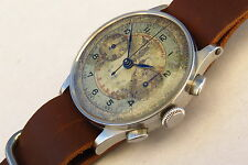 COLLECTIBLE MILITARY OMEGA WWII 1942 LARGE SS CHRONOGRAPH WATCH CAL 33.3 CHRO T1
