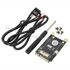 New PCI-E Mini PCI Express Adapter V3.0 for BCM94360CD BCM94331CM