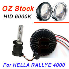 55W 12V HID 6000K CONVERSION KIT FOR HELLA RALLYE 4000 SPOT DRIVING LIGHTS 4WD