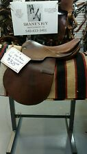 "16 1/2 /17"" Merker Fals Bach English Saddle"