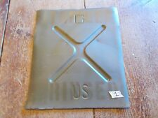 Jeep Willys MB M38 Art Decor Man Cave Wall hanger jerry can panel #1