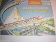 Schuco 6333 Disneyland monorotaia Monorail copy Manual English 24 pages