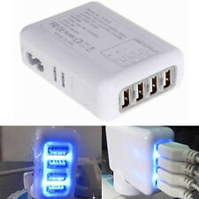 NEW 4 Port x2.1A Fast USB Wall Charger UK Plug Power Adapter forSmart phone