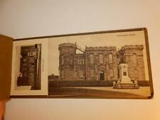 ANTIQUE SOUVENIR OF INVERNESS 1944 POST CARD BOOK WWII PHOTO & ENVELOPE RARE