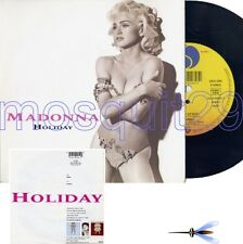 "MADONNA ""HOLIDAY"" RARE 45RPM MADE IN GERMANY 1991 MINT"