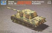 TRUMPETER® 07294 German Sd.Kfz 186 Jagdtiger Porsche w/Zimmerit in 1:72