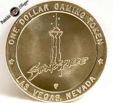 $1 SLOT TOKEN COIN STRATOSPHERE CASINO 1996 GDC MINT LAS VEGAS NEVADA TOKENS NEW