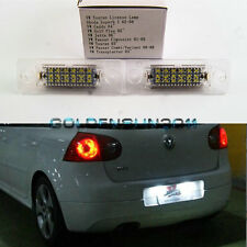 2X No Error LED License Plate Light Lamp For Volkswagen Jetta MKV Touran Passat