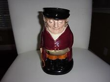 VINTAGE ROYAL DALTON LARGE TOBY CHARACTER JUG THE HUNTSMAN