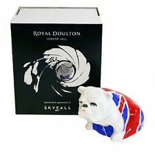 "Royal Doulton Bulldog ""JACK"" - James Bond Skyfall 007 Brand New"