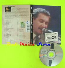 DVD PAOLO CONTE I concerti live @artsi 12 aprile 1988 DIGIPACK mc lp vhs cd(DM1)