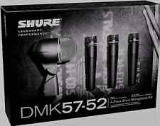 New Shure DMK57-52 Drum Mic Kit Authorised Dealer Make Offer Buy It Now!