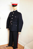 ****Royal Marines navy No1 UNIFORM  Blues Jacket tunic RM ORS & TROUSERS & CAP