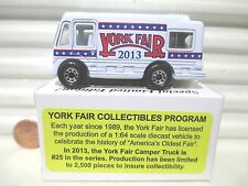 Matchbox 2013 York Fair PA 1/80 Diecast Limited Edition Motor Home 2,500 Made