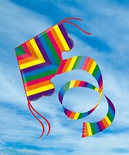 Gunther 1159 Childrens Kite Rainbow Colours Easy to Fly Single Line Fun Kids Toy