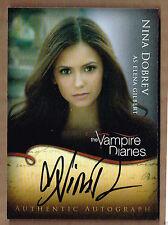 Nina Dobrev ++ Autogramm ++ The Vampire Diaries ++  Vielleicht lieber morgen