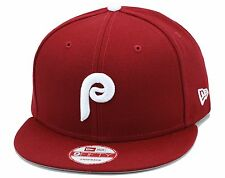 New Era Philadelphia Phillies Snapback Hat Cap All Maroon/White For Jordan 6 VI