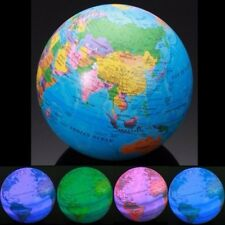 Educational Toys High Spinning World Globe Map Earth LED MAGIC REVOLVING GLOBE
