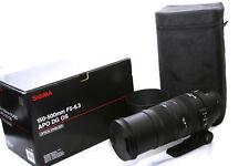 Sigma EX 150-500mm F/5.0-6.3 APO HSM DG OS Lens Canon **4678**