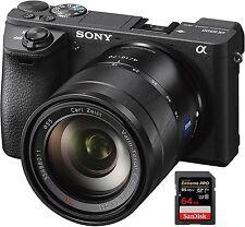Sony Alpha ILCE-6500 + Zeiss 16-70 + Zubehörpaket: 64GB SDXC ! A6500
