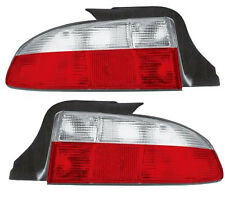Back Rear Tail Lights Lamps Indicators Set Red-White Pair For BMW Z3 -3/99