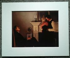 "JACK VETTRIANO""BEAUTIFUL LOSERS II"" MOUNTED ART PRINT SINGLE MOUNT PRESENTATION"