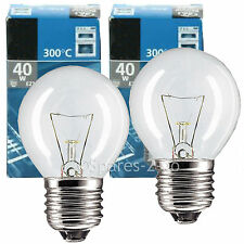 E27 ES 40W Lamp Light Bulb for Stoves Oven Cooker Screw In Pack of 2