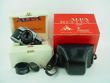 Alpa 10D w/50mm f/1.9 Kern-Macro-Switar All Black Lens #54653 Boxed & Rare