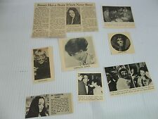 Carolyn Jones  lot of  clippings #115