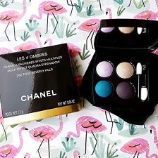 Authentic CHANEL Eyeshadow Quad Palette*TISSE BEVERLY HILLS* 2016 Rare FAST POST