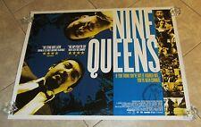 NINE QUEENS movie poster (Original UK Quad Movie Poster)