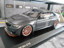 BMW 4er M4 GTS Coupe frozen grey met 2016 Minichamps Diecast 1:18