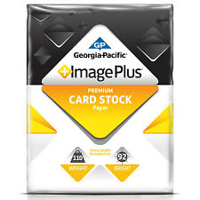 "GP - Image Plus, Card Stock Paper, 110 lb., 8-1/2"" x 11"", 1 Pack - 250 Sheets"