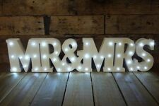 Mr and Mrs sign, Gift mr & mrs light up sign gift,mr & mrs wedding sign LED