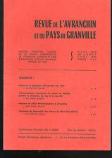 Revue de l'Avranchin,n°342 1990, Mortain et le Directoire, noms prénoms