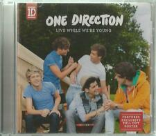 B -1 Maxi/single CD One Direction/Live while we 're young/carte + poster