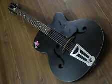 "Givson Acoustic Guitar (Crown Special) Black Matt ""100%Genuine & Incl VAT"""
