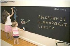 Blackboard for Home Use Wall Sticker Kids Drawing Art Board Fast Delivery UK