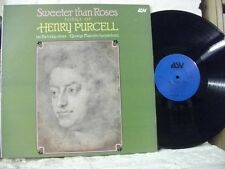 ALH 963 Sweeter Than Roses, Songs of HENRY PURCELL PARTRIDGE MALCOLM ASV STEREO