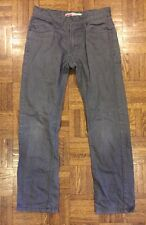 Boys Levis 511 Slim Fit Jeans Gray Size 14 Good Condition