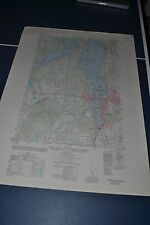1950 Army Topo map Olympia Washington Sheet 1478 III SW