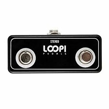 Dual Amp Channel Footswitch - Latching Switch - Loopi Pedals